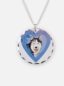 husky-heart Necklace