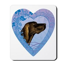 plott-heart Mousepad