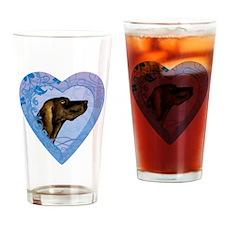 plott-heart Drinking Glass
