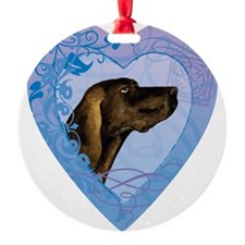 plott-heart Ornament