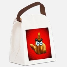 redcomicmyangrybird Canvas Lunch Bag