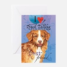 toller-kindle Greeting Card