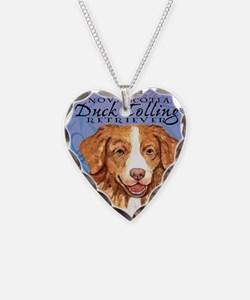 toller-iPad Necklace Heart Charm