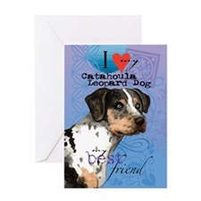 catahoula-kindle Greeting Card
