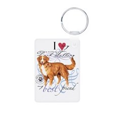 toller-slider2 Aluminum Photo Keychain