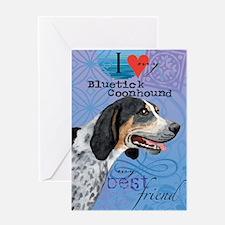 bluetick-iPad Greeting Card