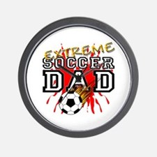 Extreme Soccer Dad Wall Clock