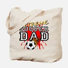 Extreme Soccer Dad Tote Bag