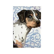 catahoula-key2 back Rectangle Magnet