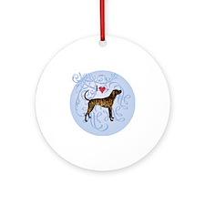 plott-charm2 Round Ornament