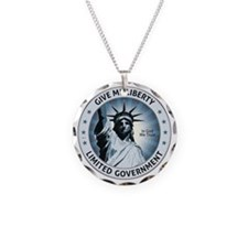oct_give_me_liberty_blue Necklace
