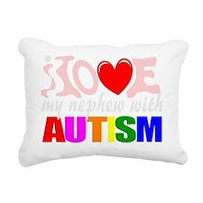 Autism love nephew Rectangular Canvas Pillow