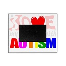 Autism love nephew Picture Frame