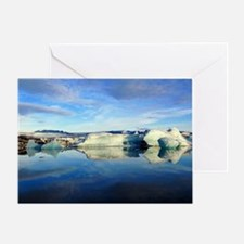 IceBergs1 Greeting Card