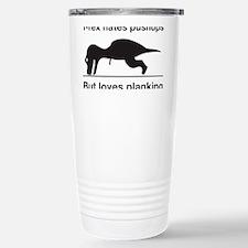 trex planking2 Stainless Steel Travel Mug