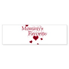 Mommy's Favorite Bumper Bumper Sticker