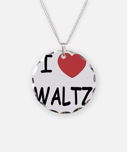 WALTZ Necklace Circle Charm
