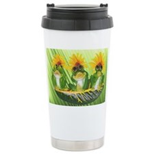See,Hear,Speak No Evil Frogs Fi Travel Mug