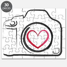 DSLR Camera Heart Puzzle
