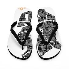 M-MLGR_ATL-GA_BK-WH_1 Flip Flops