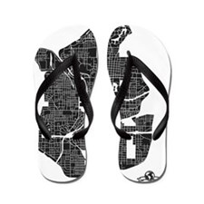 M-RY_ATL-GA_BK-WH_1 Flip Flops