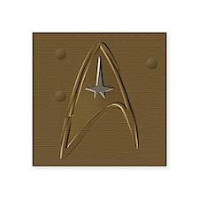 "Star Trek Wallet 2 Square Sticker 3"" x 3"""