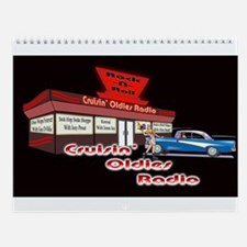 Cruisin Oldies Radio Wall Calendar
