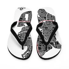 W-LTPK_ATL-GA_BK-RD_1 Flip Flops