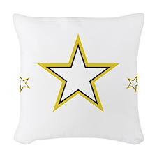 SoldiersHeart1_DarkShirt Woven Throw Pillow