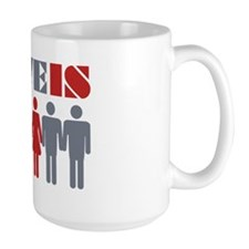 LoveIs_TwoColor Mug