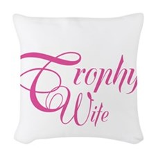 SailorTrophyWife_DarkShirt Woven Throw Pillow