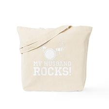 HusbandRocks_DarkShirt Tote Bag