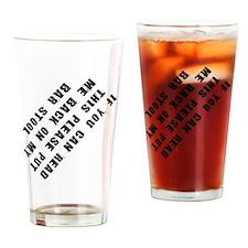barstool Drinking Glass