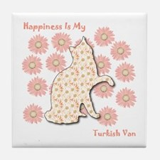 Van Happiness Tile Coaster