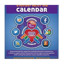 e-Patient Calendar Tile Coaster