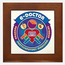 e-Doctor Badge Framed Tile