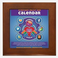 e-Patient Calendar Framed Tile