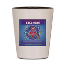 e-Patient Calendar Shot Glass
