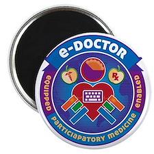 e-Doctor Badge Magnet
