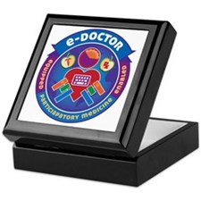 e-Doctor Badge Keepsake Box
