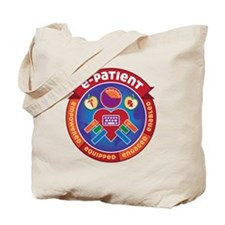 e-Patient Badge Tote Bag