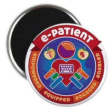 e-Patient Badge Magnet