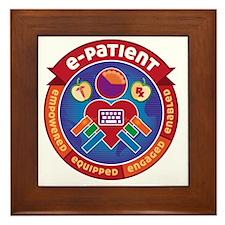 e-Patient Badge Framed Tile
