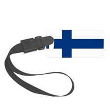 2000px-Flag_of_Finland Luggage Tag