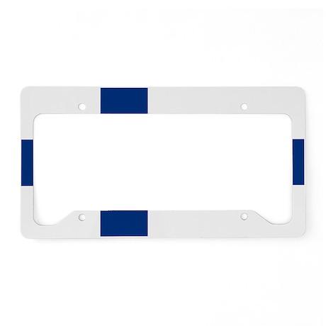 2000px-Flag_of_Finland License Plate Holder
