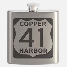 copper harbor 41 Flask