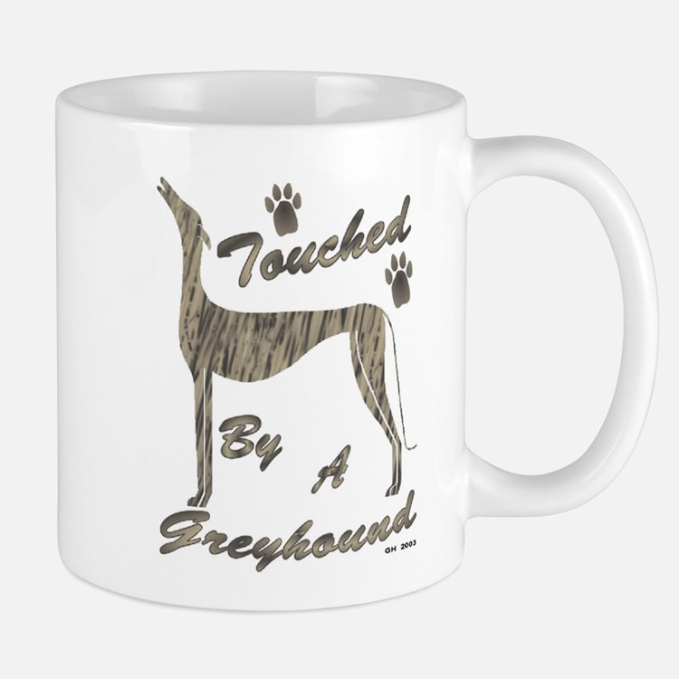 BRINDLE Touched by a Greyhound Mug