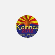 Romney Arizona Mini Button