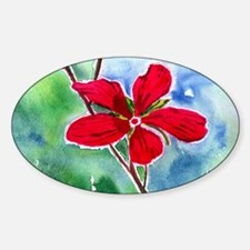 scarlet mallow Decal