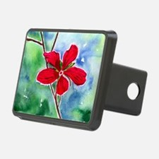 scarlet mallow Hitch Cover